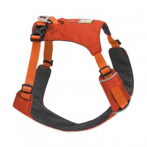 Collier, laisse et harnais - Harnais Hi & Light Orange pour chiens