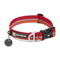 Collier pour chien - Collier Crag - Rouge Ruffwear