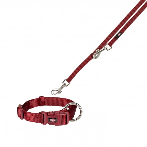 Collier, laisse et harnais - Collier Premium S-M & Laisse réglable Premium pour chiens