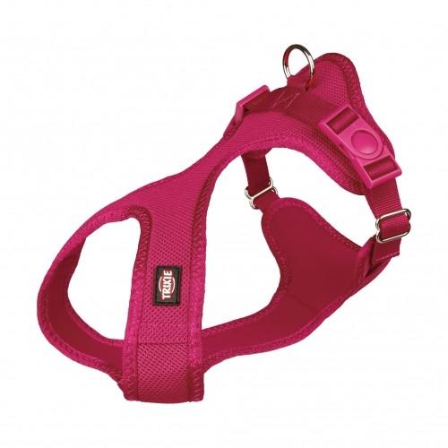 Collier, laisse et harnais - Harnais Comfort Soft - Rose Fushia pour chiens