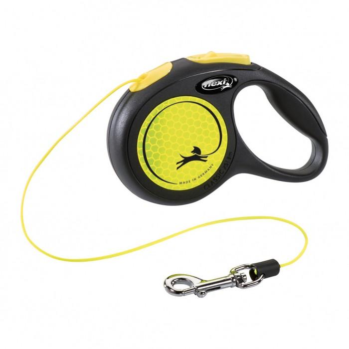 Collier, laisse et harnais - Laisse rétractable New Neon - Cordon pour chiens
