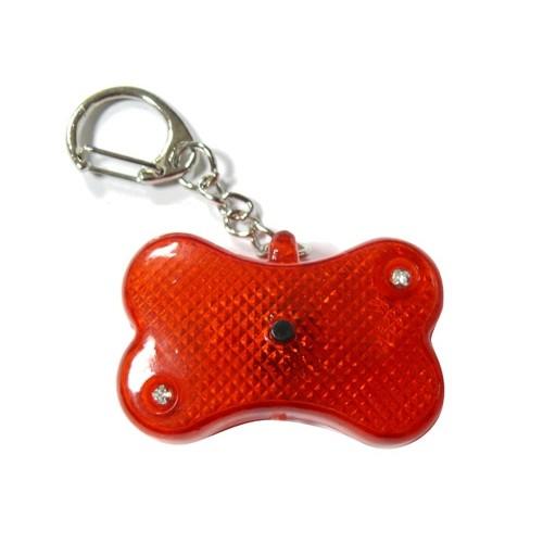 Sécurité et protection - Pendentif lumineux Os Flasher pour chiens