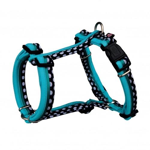 Collier, laisse et harnais - Harnais Freshline Spot - Taille S pour chiens