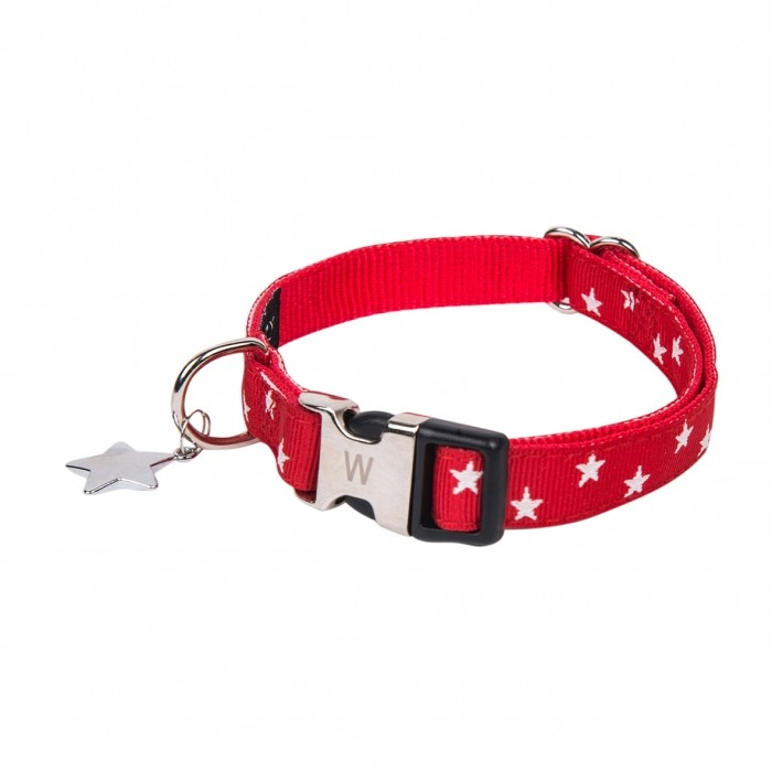 Sélection Noël - Collier Star Rouge pour chiens