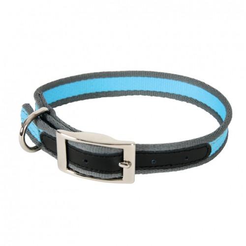 Collier, laisse et harnais - Collier Nylon Summer Bleu pour chiens
