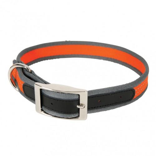 Collier, laisse et harnais - Collier Nylon Summer Orange pour chiens