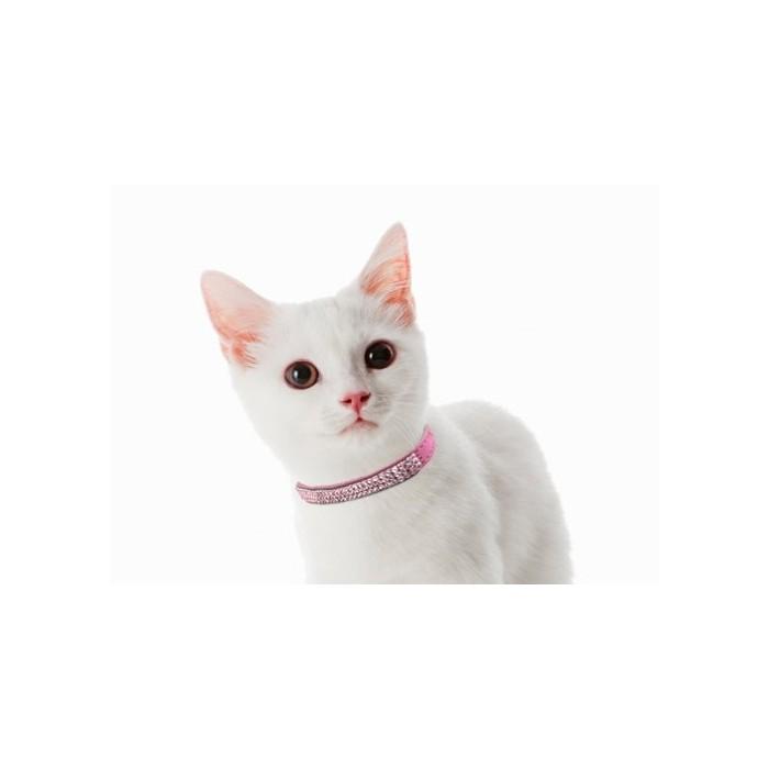 Collier, laisse et harnais - Collier Princess avec strass de Swarovski pour chats
