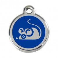 Médaille à personnaliser - Médaille personnalisable motif Souris Red Dingo