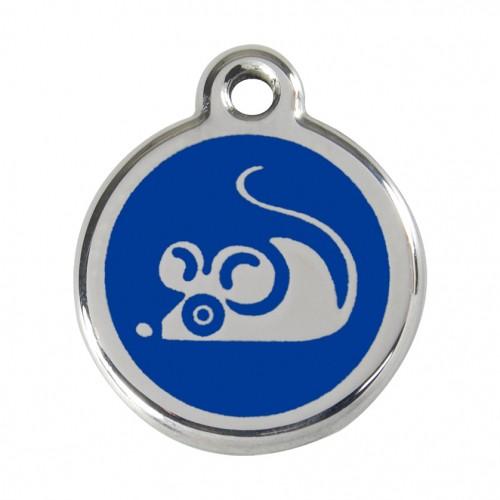 Collier, laisse et harnais - Médaille personnalisable motif Souris pour chats