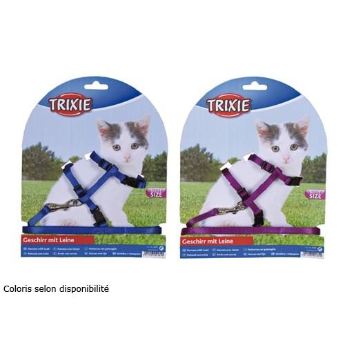 Collier, laisse et harnais - Parure laisse et harnais Kitty pour chats