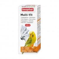 Complément vitaminé pour perroquets et perruches - Multi-Vit Beaphar