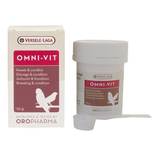 Complément santé oiseau - Oropharma Omni-Vit pour oiseaux