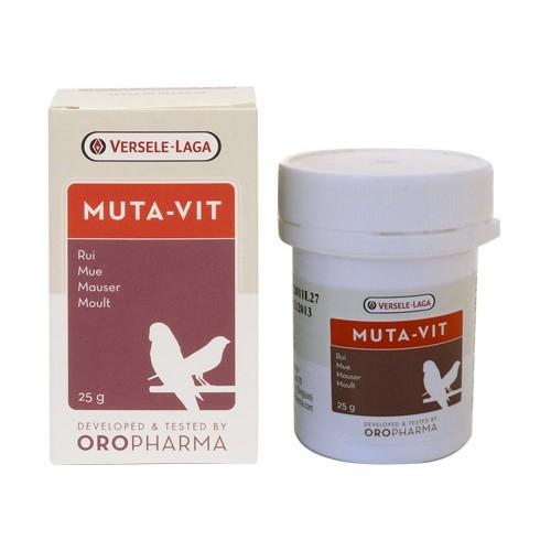 Complément santé oiseau - Oropharma Muta-Vit pour oiseaux