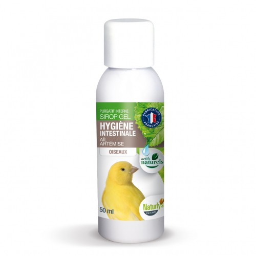Complément santé oiseau - Poudre Hygiène intestinale pour oiseaux
