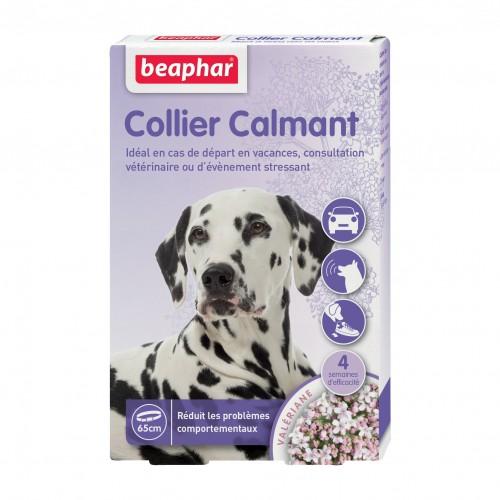 collier calmant anti stress pour chien beaphar wanimo. Black Bedroom Furniture Sets. Home Design Ideas