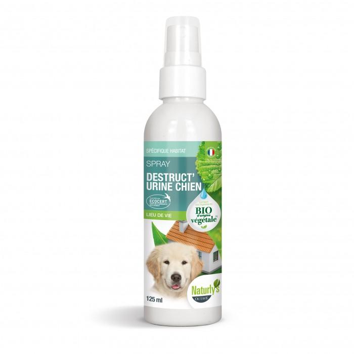 Comportement éducation - Spray Bio Destruct'urine Chien pour chiens