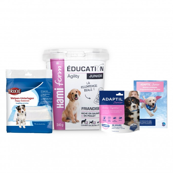 Comportement éducation - Trousseau Education du chiot pour chiens