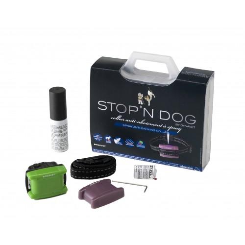 Collier anti-aboiement à spray pour petit chien - Collier anti-aboiement spray Stop'n Dog Dynavet