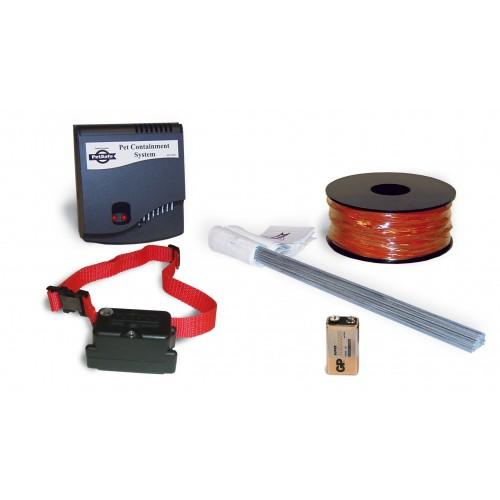 Clôture anti-fugue sonore, vibration et électrostatique - Clôture Super Radio Fence Petsafe
