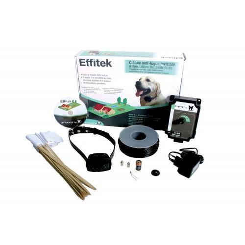 Collier, laisse et harnais - Clôture Effitek pour chiens