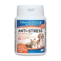 Aliment complémentaire pour chien et chat - Comprimés anti-stress Francodex
