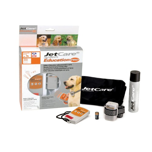 Comportement éducation - Collier de dressage spray Jetcare Education Pro pour chiens