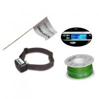 Clôture anti-fugue sonore et électrostatique - Clôture Canifugue Mix Num'Axes