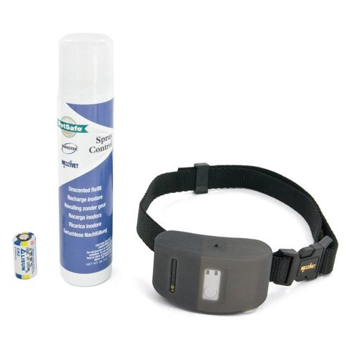 Collier anti-aboiement à spray - Collier anti-aboiement Dog Spray Deluxe Petsafe