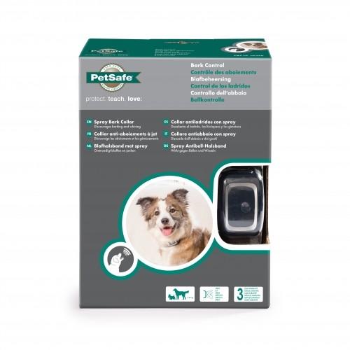 Comportement éducation - Collier anti-aboiement à spray rechargeable pour chiens