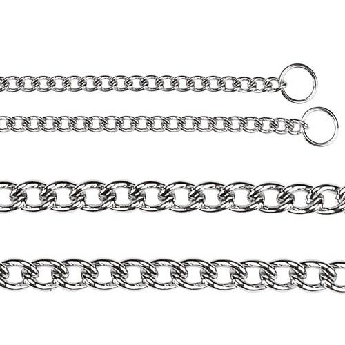 collier chaine trangleur collier de dressage pour chien. Black Bedroom Furniture Sets. Home Design Ideas