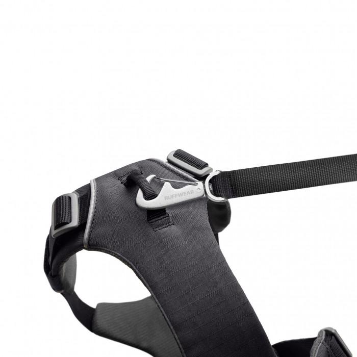Collier, laisse et harnais - Harnais Front Range - Gris pour chiens