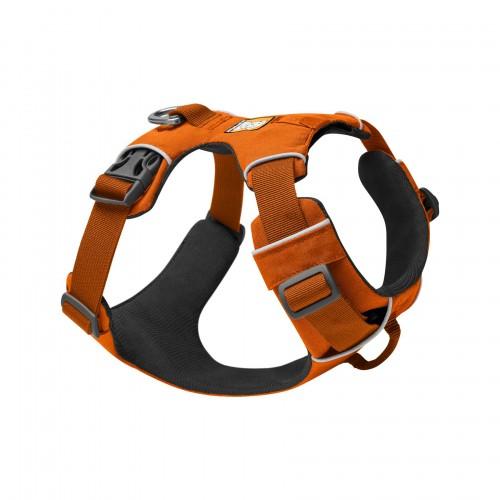 Collier, laisse et harnais - Harnais Front Range - Orange pour chiens