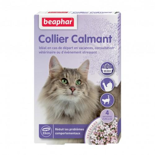 Comportement éducation - Collier calmant pour chats