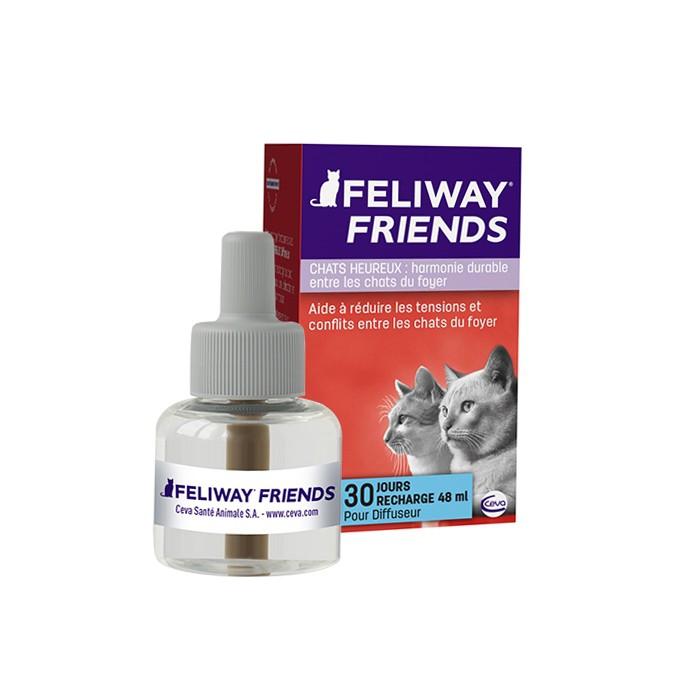 Comportement éducation - Feliway Friends diffuseur et recharges pour chats