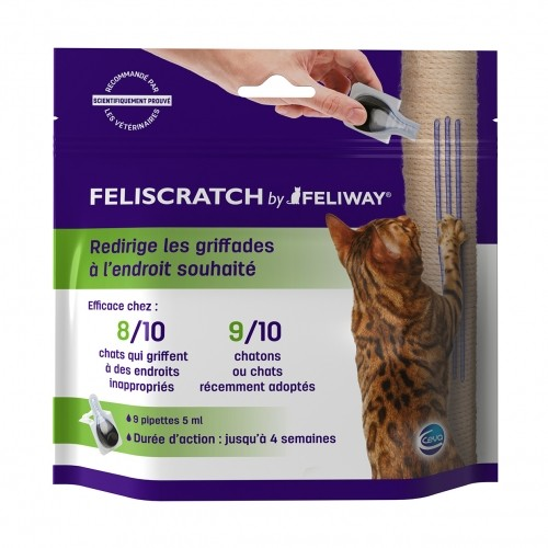 Arbre à chat et griffoir - FELISCRATCH by FELIWAY pour chats