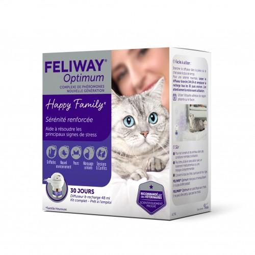 Comportement éducation - Feliway® Optimum diffuseur pour chats