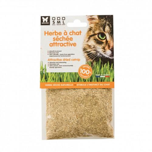 Jouet pour chat - Herbe à chat séchée pour chats