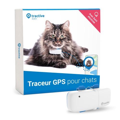 Chatière, sécurité, anti-fugue - Collier traceur GPS IKATI pour chats