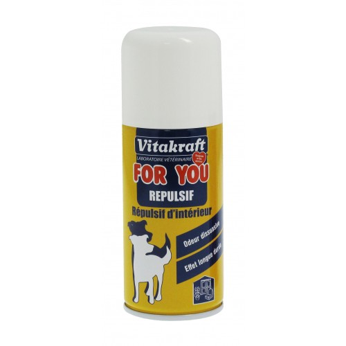 R pulsif d 39 int rieur r pulsif pour chien vitakraft for Repulsif chat interieur canape