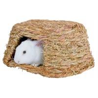 Couchage et habitat rongeur - Maisonnette végétale