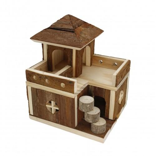 Couchage et habitat rongeur - Maison Duplex pour rongeurs