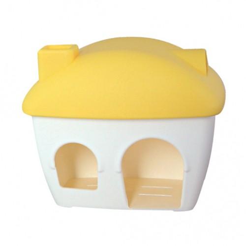 Couchage et habitat rongeur - Maison plastique pour hamster pour rongeurs
