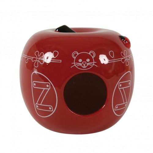 Accessoire pour cage - Nid céramique pomme Zolux