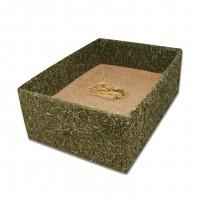Dôme et maison pour rongeur - Box de foin avec terre à bain JR Farm