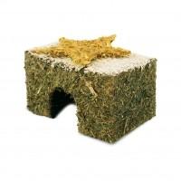 Dôme et maison pour rongeur - Maison de foin avec toit enneigé JR Farm