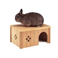 Couchage et habitat rongeur - Maison en bois