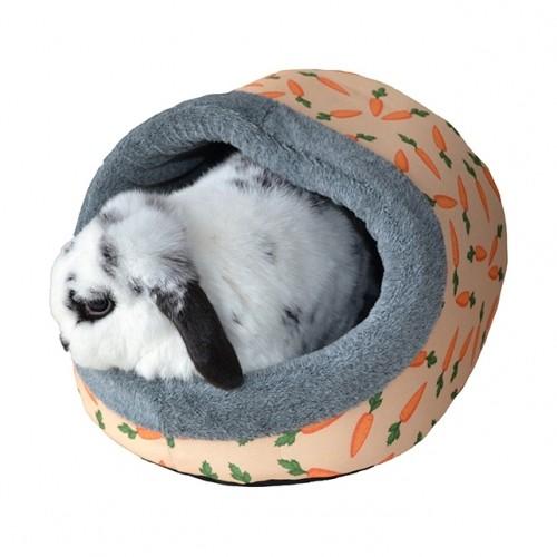 Couchage pour furet - Dôme carotte pour furets