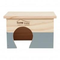 Dôme et maison pour rongeur - Maisons Home Color  Zolux