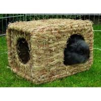 Couchage et habitat rongeur - Maison d'herbe