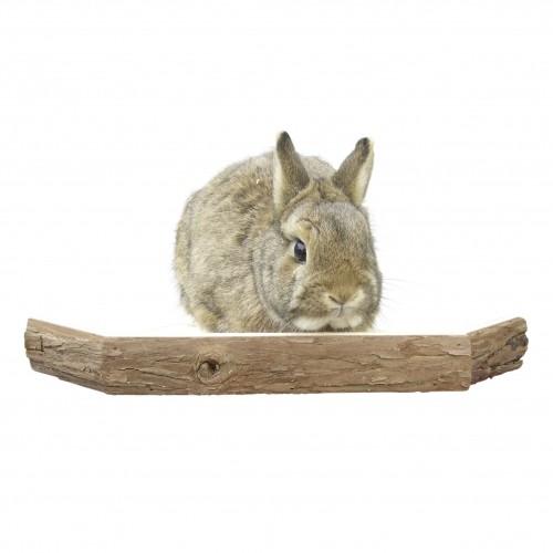 Couchage et habitat rongeur - Plateforme en bois pour rongeurs